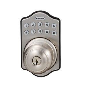 Kwikset Kwikset Arch Sfera Electronic Door Knob (Satin Nickel)