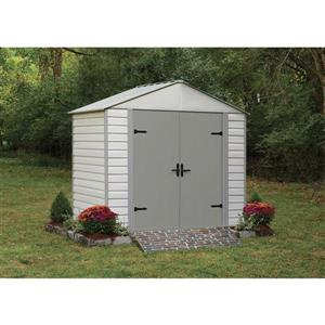 Arrow 8-ft x 5-ft Vinyl-Coated Steel Storage Shed