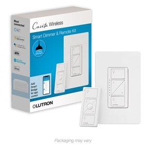 Lutron Caseta Wireless 1.25 Amp 150-Watt White 3-Way Compatible Cfl/Led Compatible Wireless Digital Dimmer Remote Control