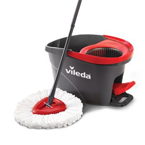 vileda EasyWring Spin Bucket and Microfiber Mop System