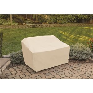 Tan Patio Loveseat Chair Cover Lowe S Canada