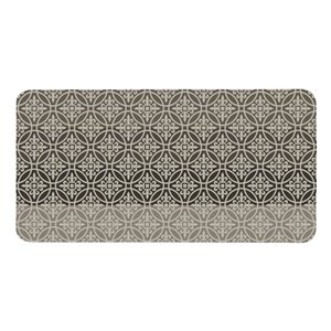 Multy Home 20-in x 39-in Terman Beige/Gray Mat