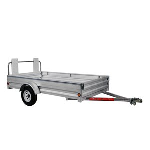 Stirling 5-ft x 10-ft Utility Trailer with Ramp Gate