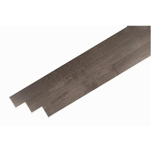 Mistral Collection Mistral 3/4-in Thick Gunmetal Maple Solid Hardwood Flooring (4-in Wide x Various Lengths)