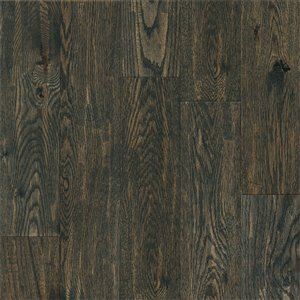 Opal Creek Classic Scrape 3/4-in Thick QuickSilver Oak Solid Hardwood Flooring (5-in Wide x Various Lengths)