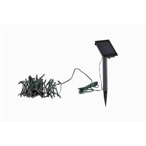 100-Count Warm White LED Solar Outdoor String Lights