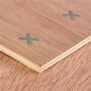 McCorry 1/4 x 4-ft x 4-ft Lauan Underlayment Plywood