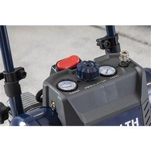 Briggs & Stratton QPT 4.5-Gallon Single Stage Portable Electric Twin Stack Air Compressor