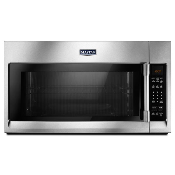Maytag 30 In 2 Cu Ft Over The Range Microwave Stainless Steel Lowe S Canada