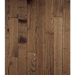Bruce Ellington Plank 3/4-in Thick Antique Oak Solid