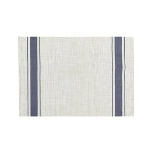 13-in x 19-in Bistro Stripe Patio Table Placemat