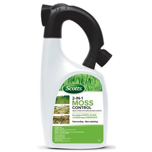 Scotts 33.8-oz Liquid Moss and Algae Control Concentrate Liquid Moss and Algae Control Liquid Moss and Algae Control Concentrate