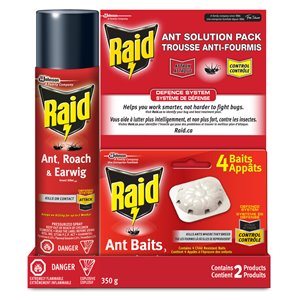 Raid Ant Solution Combo Pack