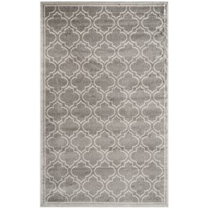Amherst Grey and White Area Rug