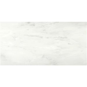 STAINMASTER 18-in x 36-in Carrera Marble Luxury Vinyl Tile