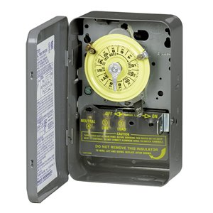 Intermatic 40-Amp 1-Outlet Mechanical Residential Hardwired Lighting Timer