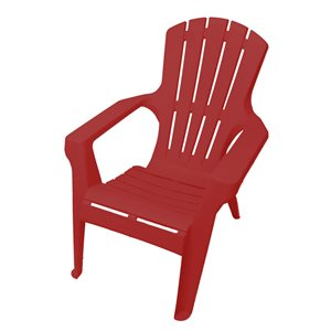 Gracious Living Resin Adirondack Chair