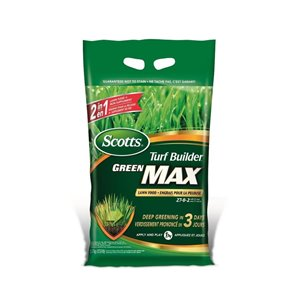 Scotts 12.6-lb Turf Builder Green MAX Lawn Food (27-0-2)