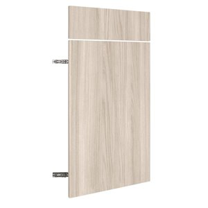 Nimble by Diamond 18-in W x 30-in H x 0.75-in D White Chocolate Base Cabinet Door and Drawer Front
