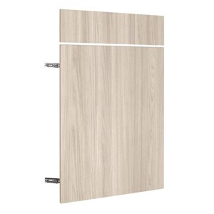 Nimble by Diamond 24-in W x 24-in H x 0.75-in D White Chocolate Base Cabinet Door and Drawer Front