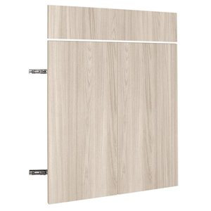 Nimble by Diamond 30-in W x 30-in H x 0.75-in D White Chocolate Base Cabinet Door and Drawer Front
