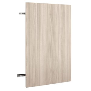 Nimble by Diamond 24-in W x 30-in H x 0.75-in D White Chocolate Wall Cabinet Door