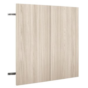 Nimble by Diamond 36-in W x 30-in H x 0.75-in D White Chocolate Wall Cabinet Door