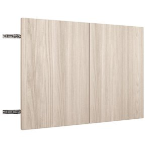 Nimble by Diamond 30-in W x 18-in H x 0.75-in D White Chocolate Wall Cabinet Door