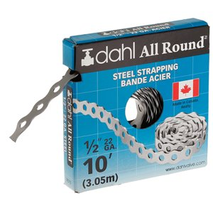 1/2-in x 10-ft Steel 22-Gauge All Round Strapping/Pipe Hanger