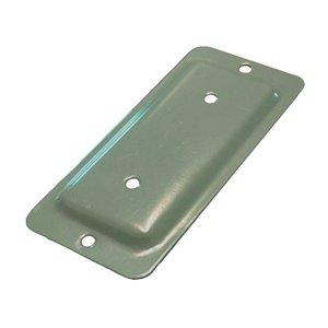 2-in x 4-in Khaki Deck Rail Bracket Fixplak/ Anchor Plate