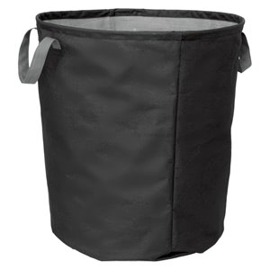 Harvey Lewis Jumbo Black Fabric Storage Basket