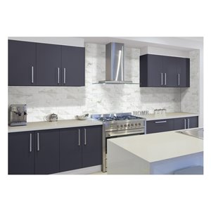 American Olean Tiffany Heights 4-in x 8-in Bianco Ceramic Wall Tile