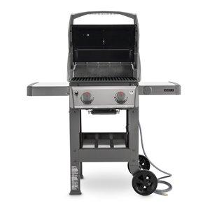 Weber Spirit II E-210 2-Burner Black Natural Gas Grill