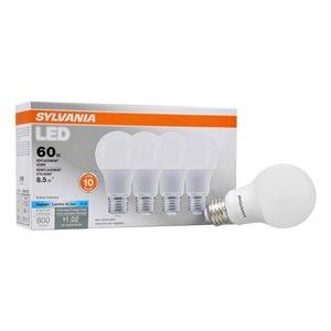 SYLVANIA 8.5-Watt/800 Lumens Medium Base (E-26) A19 LED Light Bulb (1-Pack)