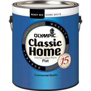 Classic Home 3.67 L Flat Pre-Tinted Interior Latex Paint