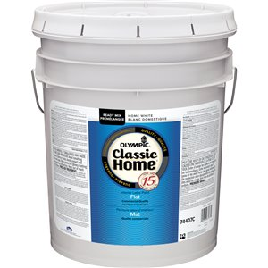 Olympic Classic Home 18.3L Flat Latex Interior Paint
