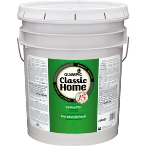 Olympic Classic Home Ceiling Flat Interior Latex Paint