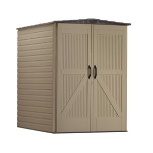 Rubbermaid 5-ft x 6-ft Roughneck Storage Shed