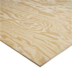 Taiga Building Products 5/8 x 4-ft x 8-ft Brown Pressure Treated Plywood
