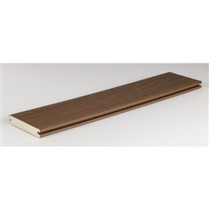 TimberTech 1-in x 6-in x 12-ft Antique Palm Tropical Composite Decking