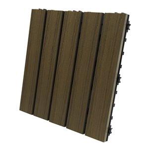 Elite Walnut Deck Tile (10-Pack)