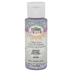 Testors® Craft 2 fl oz Glitter Burst Acrylic Craft Paint