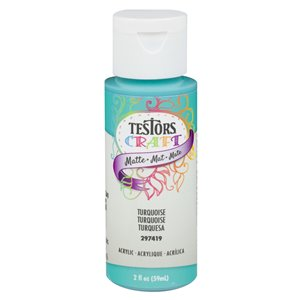 Rust-Oleum Testors Craft 2 fl oz Acrylic Matte Craft Paint