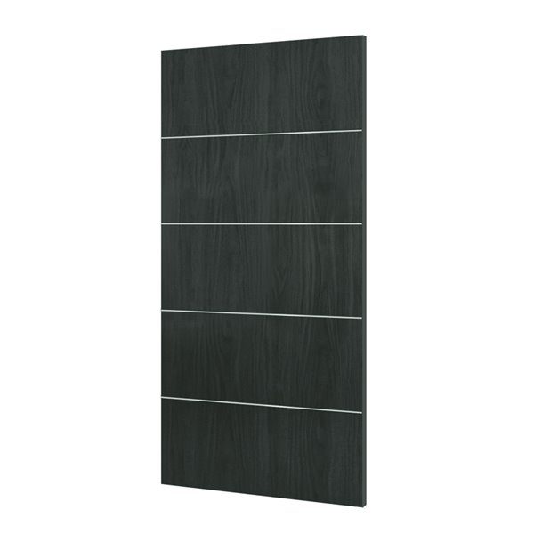 the latest 467e6 d4083 32-in x 80-in Charcoal Grey Murage Interior PVC Slab Door