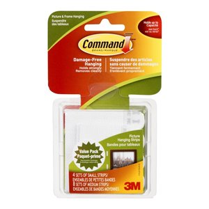Command Picture Hanging Strips Combo Pack