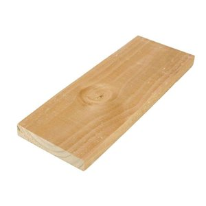 Taiga Building Products 1-in x 6-in x 6-ft Rough Spruce/Pine-Fir Board