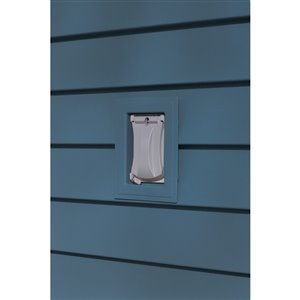 Ply Gem 1-in x 6-in Regatta Blue Vinyl Universal Mounting Block
