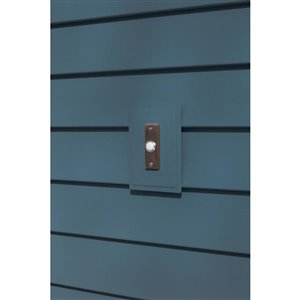 Ply Gem 1-in x 5.25-in Regatta Blue Vinyl Universal Mounting Block