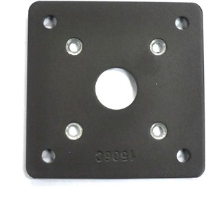 5-in x 5-in Deck Rail Bolt-Through Mounting Plate