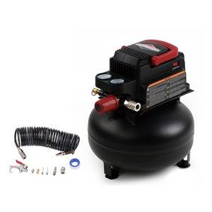 Briggs & Stratton 3-Gallon Single Stage Portable Electric Pancake Air Compressor
